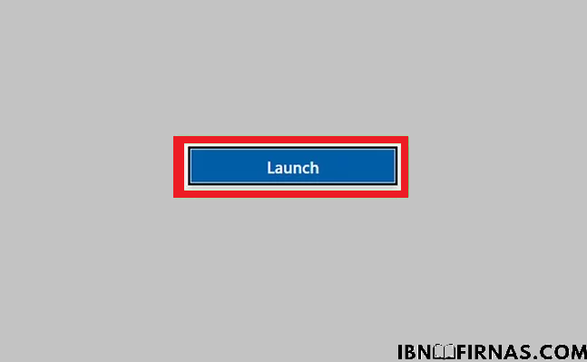 launch instalasi aplikasi